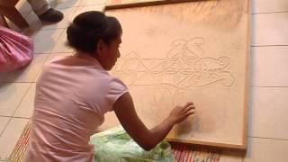 2011 07 06 Sand drawing, Vanuatu