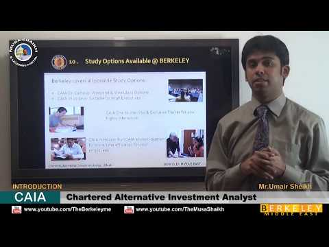 CAIA | Chartered Alternative Investment Analyst | Introduction