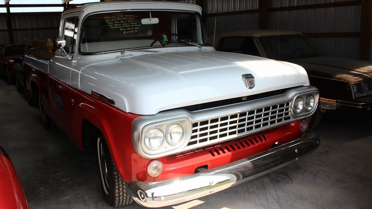 1958 Ford F100 Shortbed 272 Y-block V8 - Country Classic Cars