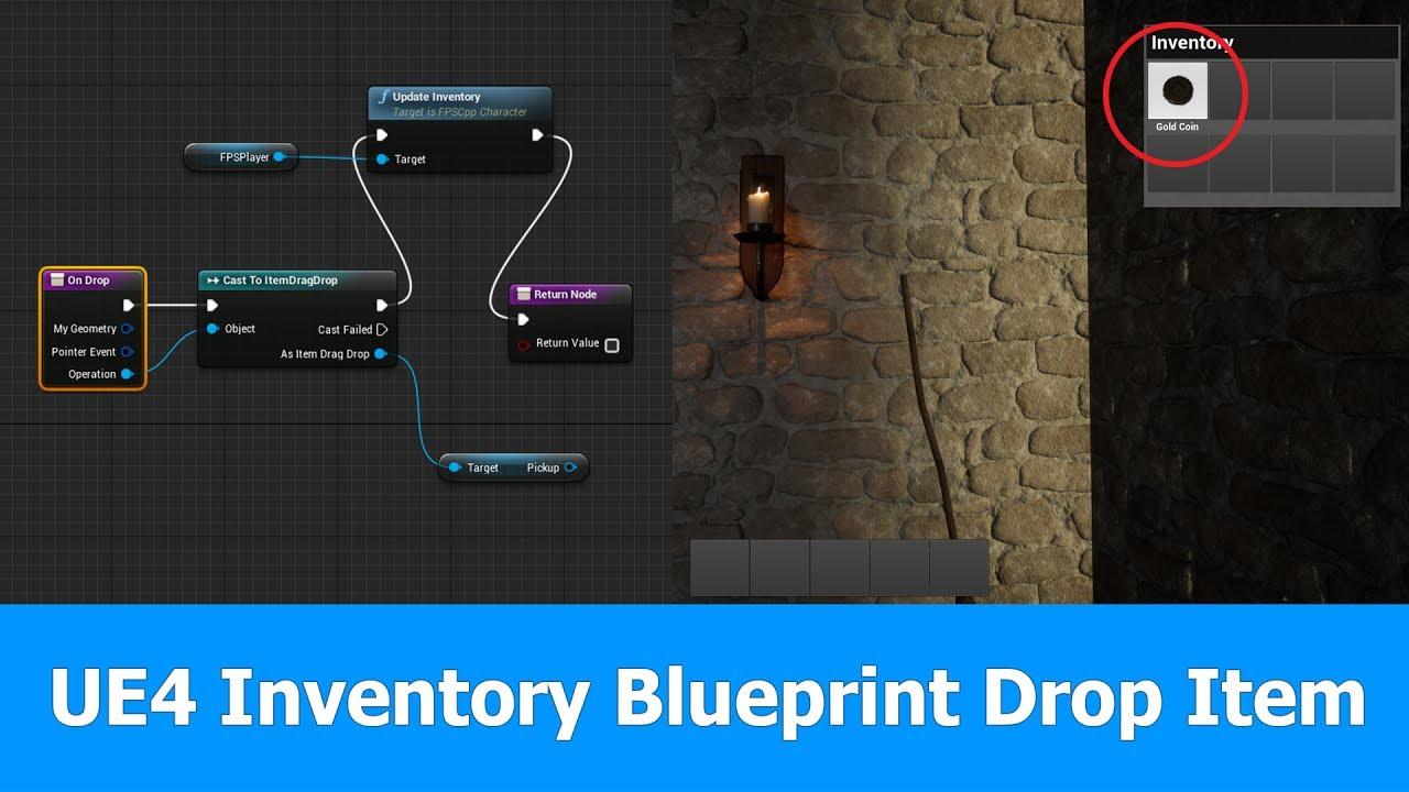 Unreal engine inventory blueprints drop items youtube unreal engine inventory blueprints drop items malvernweather Gallery