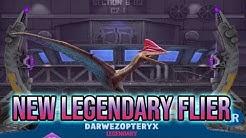 DEFENSE SHATTERING BLEED! DARWEZOPTERYX NEW LEGENDARY FLIER HYBRID SHOWCASE! | Jurassic World Alive