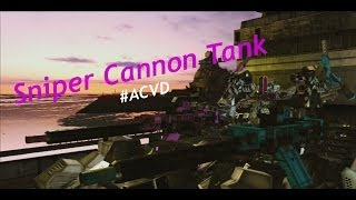 Armored Core: Verdict Day - Sniper Cannon Tank (High-Mobility)【#ACVD】