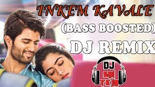 Inkem Kavali 【Bass Boosted 】 Dj Remix | Geetha Govindam Movie | Dj Sai Teja Sdpt