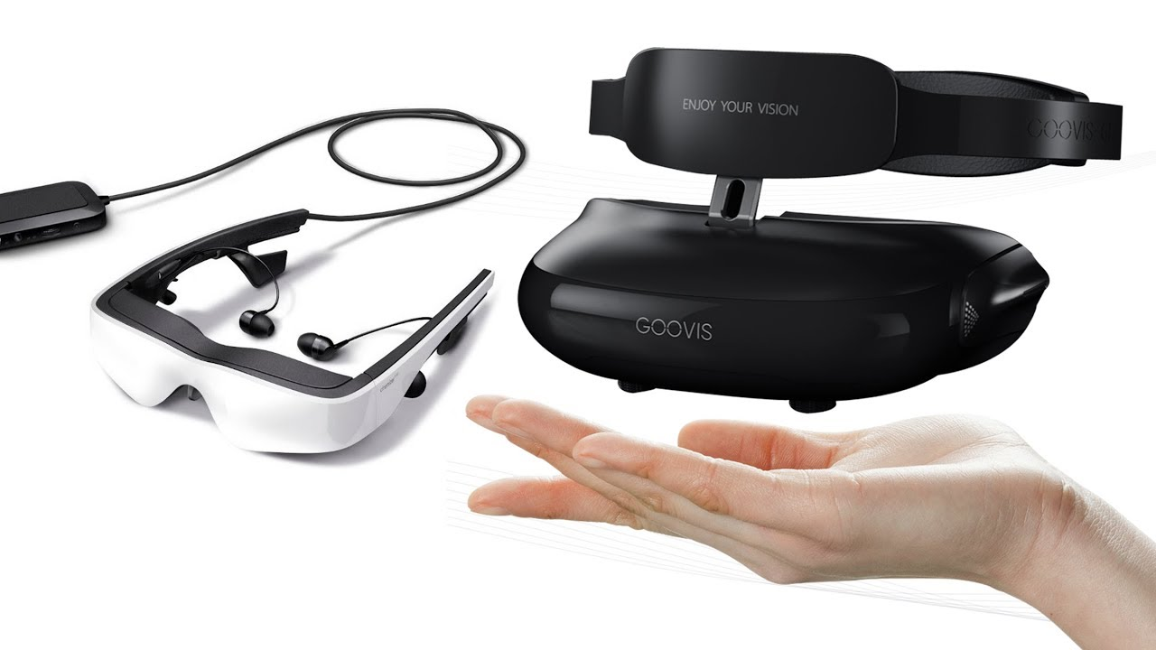 94fcbf9c08e9 5 Cool Ultra HD VR Headsets - 3d viewer -Personal 3D Virtual Mobile Theater  Available On Amazon. Inventions World