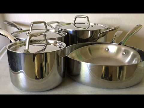 Stainless Steel Cookware Review | Tramontina 8 Piece Tri-Ply 18/10 Stainless Steel Cookware Set