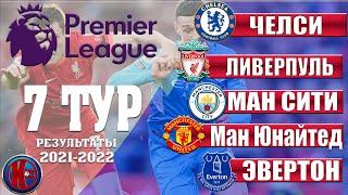 Английская Премьер Лига АПЛ Сезон 21 2022 7 Тур Равная игра Ливерпуль Манчестер Сити