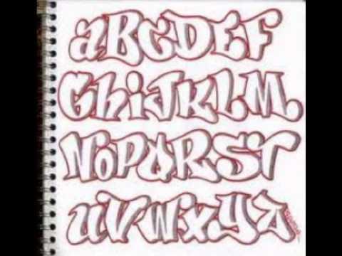 graffitis abecedario musica aloy portate bien - YouTube