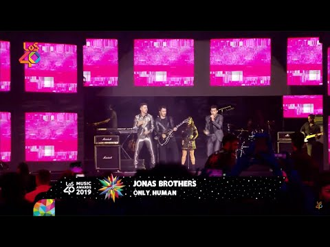 Jonas Brothers - Only Human | Los 40 Music Awards 2019
