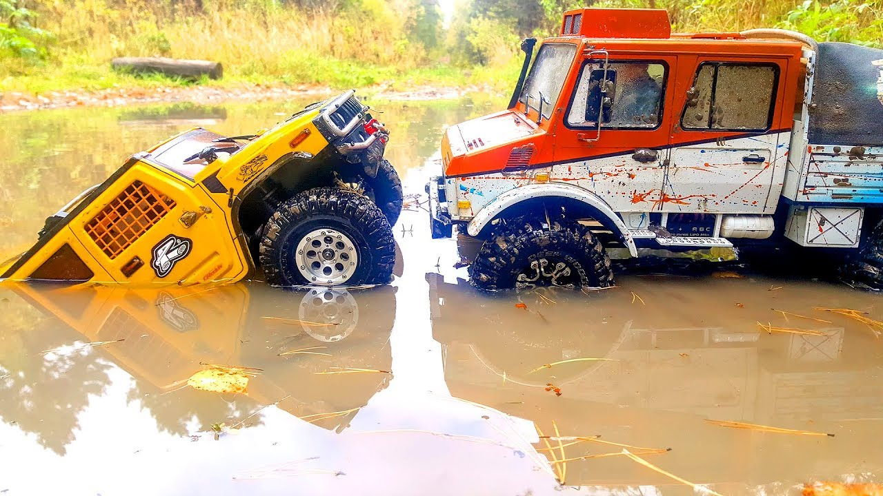 Radio-Controlled Car 4x4 Puddle Racing and MUD SPA | Wilimovich