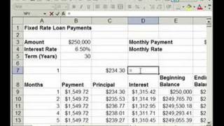 How Find Interest Prin Payments Loan Excel