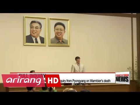 U.S. slams North Korea, weighing travel ban on North Korea following the death of Otto Warmbier