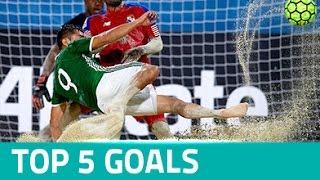 TOP 5 GOALS: CONCACAF Beach Soccer Championship Bahamas 2017