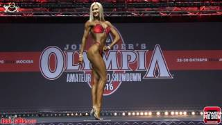 2016 Olympia Amateur Moscow Bikinifitness plus 172cm FINAL