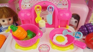 Baby doll and kitchen cooking play baby Doli toys play