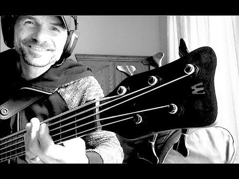 Sliding Harmonics on a WARWICK 5 String Thumb Bass