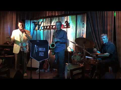 Frank DiSalvo Swings At Woody's Palm House Palm Springs