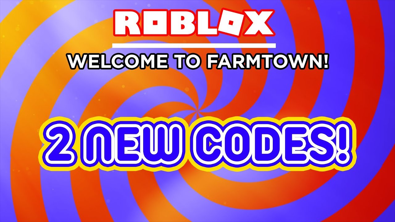 2 New Codes Welcome To Farmtown Roblox Youtube