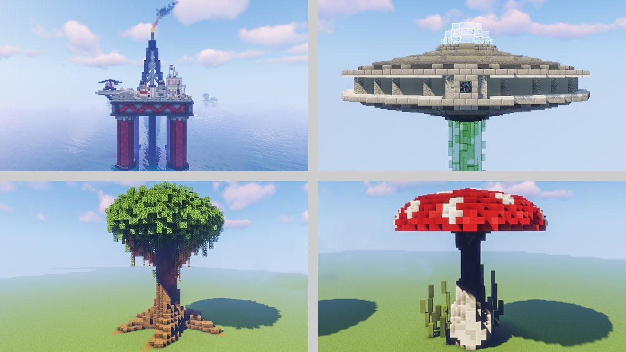 4 Ways To Decorate A Mob Farm In Minecraft 100 Subscriber Special Youtube