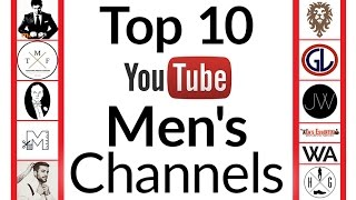 Top 10 YouTube Channels For Men | Best Men