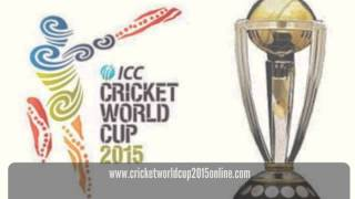 Live Streaming of ICC Cricket World Cup 2015