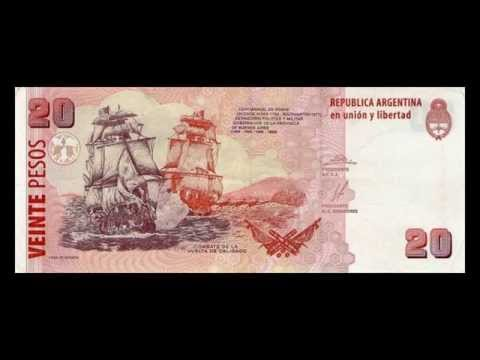 All Argentine Peso Banknotes - 2002 to 2015 Issues