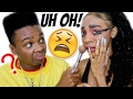 BOYFRIEND DOES MY MAKEUP!!! Ft. Jay Versace | Kellie Sweet