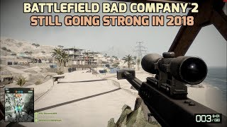 Battlefield Bad Company 2 - Gameplay in 2018 - Arica Harbor