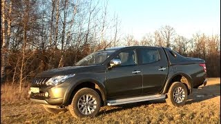 Тест Mitsubishi L200 2018.  Самый продаваемый пикап в России