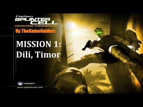 Splinter Cell: Pandora Tomorrow (HARD/STEALTH): 01 - Dili, Timor (NOR)