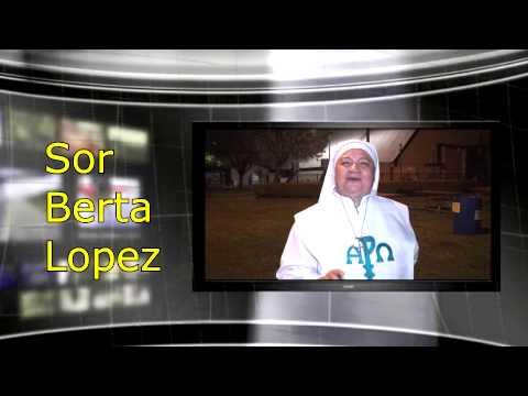 sor Berta Lopez Mensaje para Los Jovenes