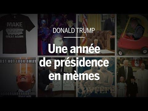 Donald Trump : une année de présidence en mèmes