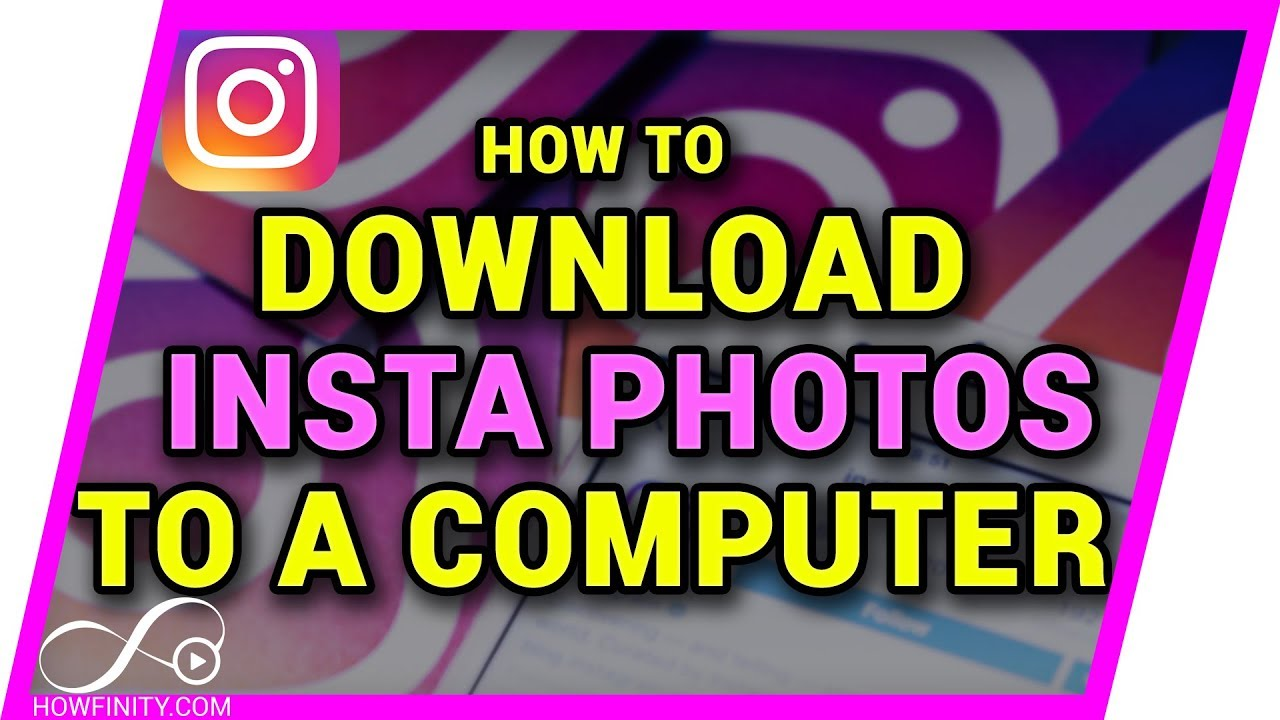 how to download your instagram photos