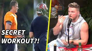 Pat McAfee's Thoughts On Tom Brady's Secret Practice With Teammates