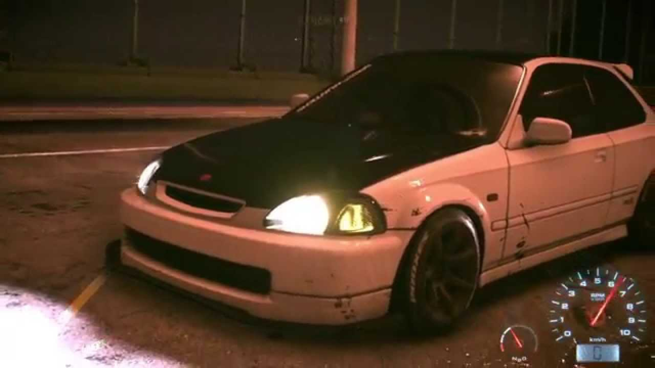 need for speed 2015 honda civic turbo vtec youtube. Black Bedroom Furniture Sets. Home Design Ideas
