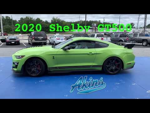 2020 Ford Performance Shelby GT500 & Ford GT @ Akins Mustang Supercharged 760 HP