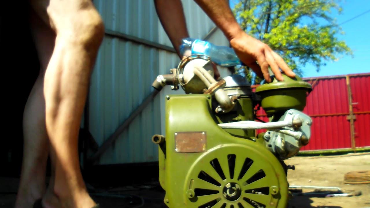 Двигатель  УД-25 .!!!! Самодельный мини-трактор.