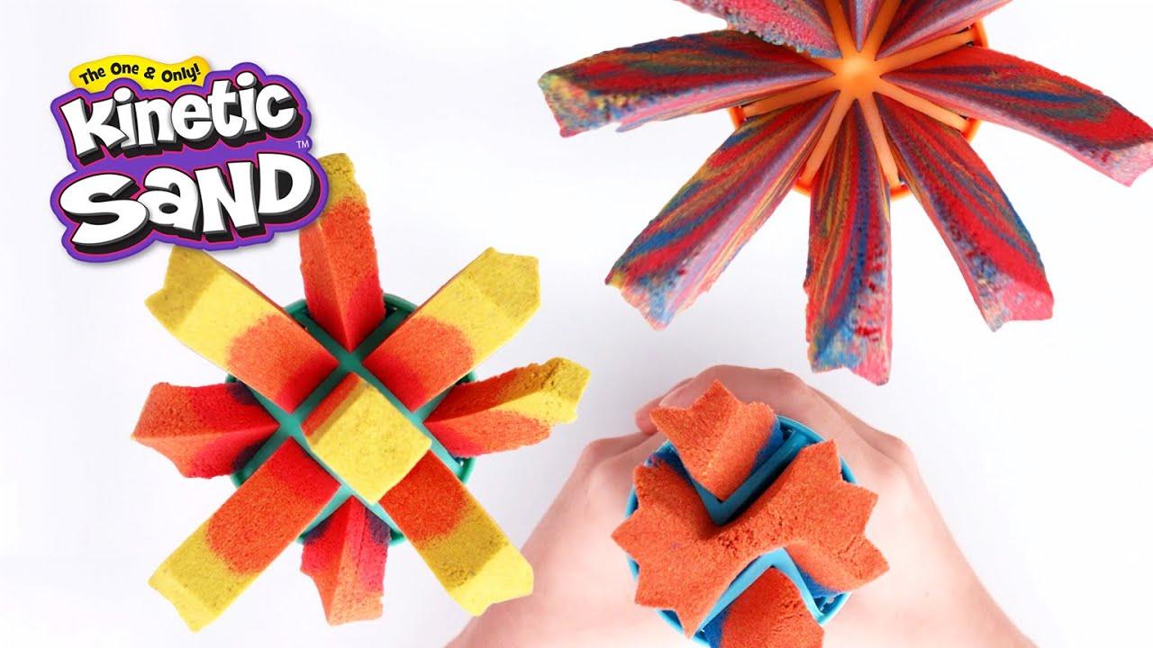 Kinetic Sand: Kufřík s nástroji (CZ)