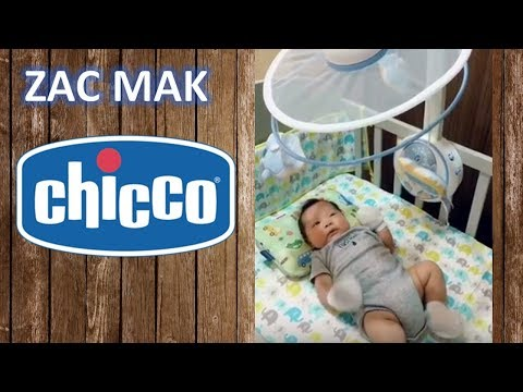Baby Zac Chicco Musical Cot Mobile Review