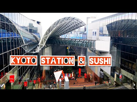 MOST BEAUTIFUL in Japan KYOTO STATION STUNNING ARCHITECTURE