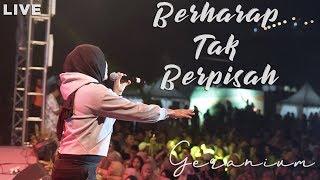 BERHARAP TAK BERPISAH LIVE MALANG (GERANIUM)