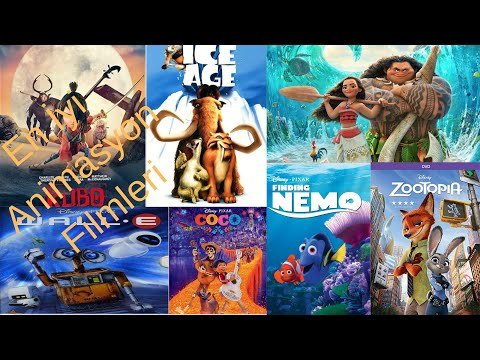 En İyi 40 Animasyon Filmi