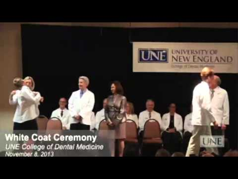 UNE College of Dental Medicine White Coat Ceremony - Inaugural Class of 2017