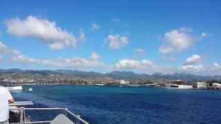 A day at Pearl Harbor (tour of the USS Missouri)