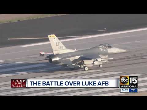 What is the future of Luke Air Force Base?