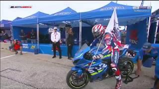 Nicky Hayden Tribute Roger Hayden MotoAmerica Lap