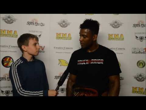 Jenaid Ebanks FCC 16 Post Fight Interview