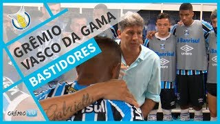 [BASTIDORES] Grêmio 2x1 Vasco da Gama (Brasileirão 2018) l GrêmioTV