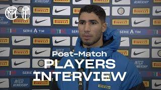 INTER 3-1 BOLOGNA | ACHRAF HAKIMI + STEFAN DE VRIJ EXCLUSIVE INTERVIEWS [SUB ENG]