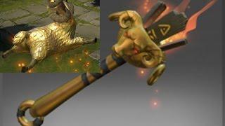 Dota 2 - Shadow Shaman -  Immortal Item - Genuine Golden Lamb to the Slaughter