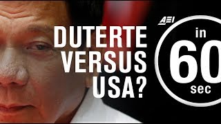 How should Trump respond if Duterte kicks US troops out of the Philippines? | IN 60 SECONDS